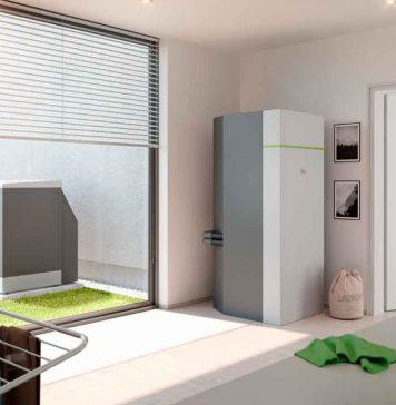 Luft-/Wasserwärmepumpe