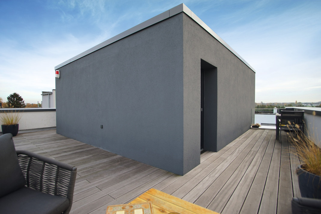 Dachterrasse in Holzbauweise - Thomas Drexel