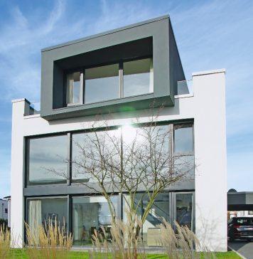 Passivhaus-Kubus á la Bauhaus - Thomas Drexel