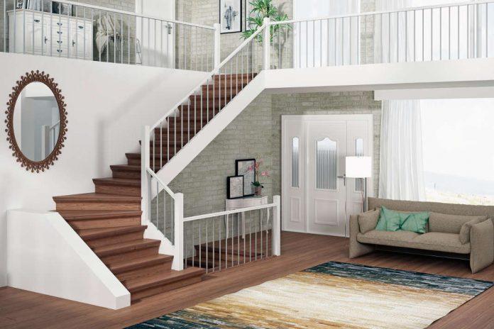 Alte Treppe renovieren - Neue Treppe schafft einen neuen Look. epr/Portas