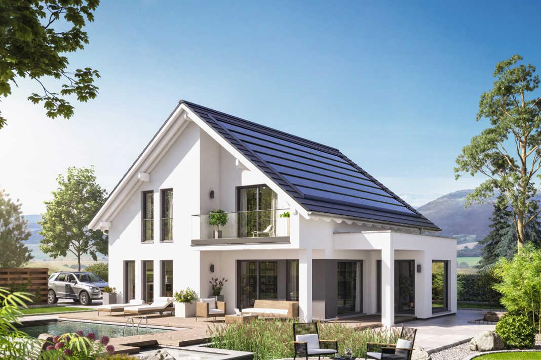 """Verschiedene """"Komfortpakete"""" als Smart Home System im Musterhaus von Bien-Zenker."""