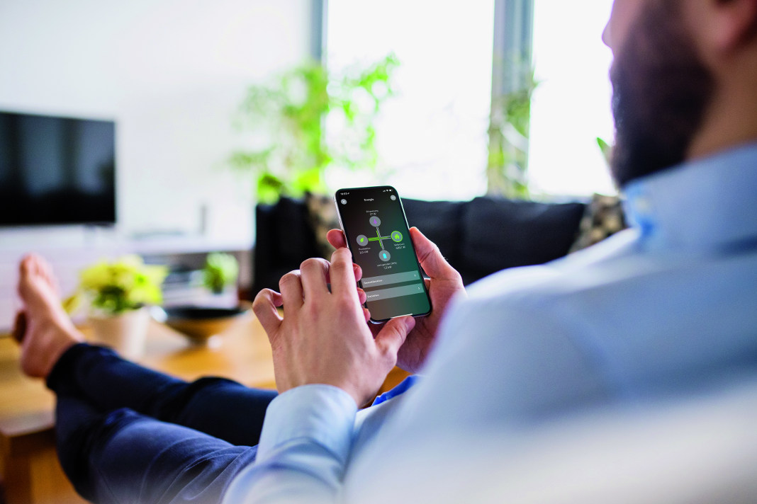 Smart Home System - Energiemanager von Loxone