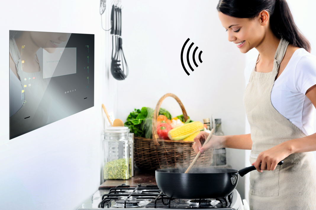 Smart Home System - internetfaehiges Touchpanel - Mues-Tec
