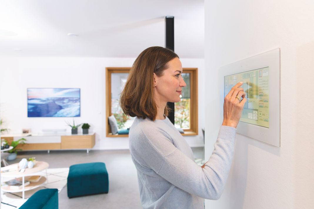 Smart Home Systeme im Einfamilienhaus - WeberHaus