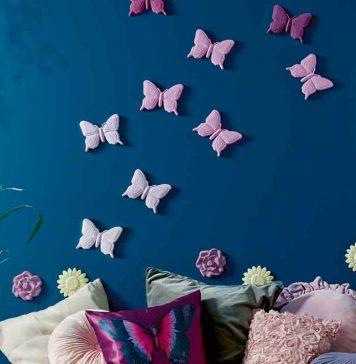 3D-Wandtattoo Schmetterling