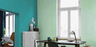 Wandgestaltung im Home Office