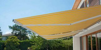 Sonnenschutz Markise laesst sich per App steuern - markilux
