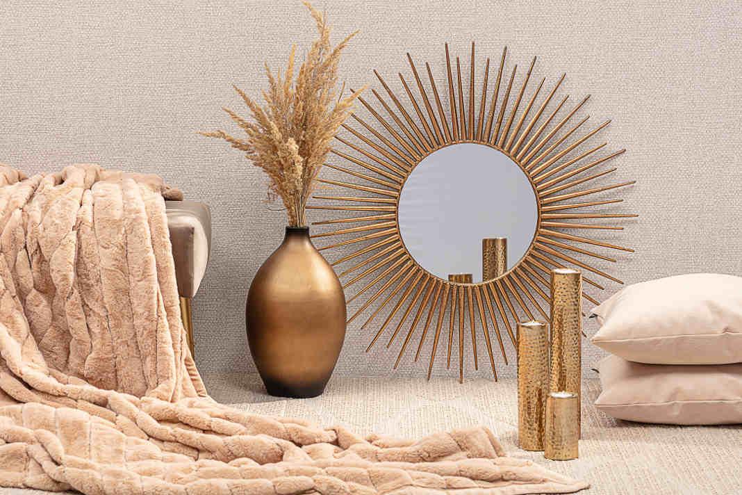 Spiegel verwenden, um dunkle Raeume aufzuhellen - Dekoria GmbH