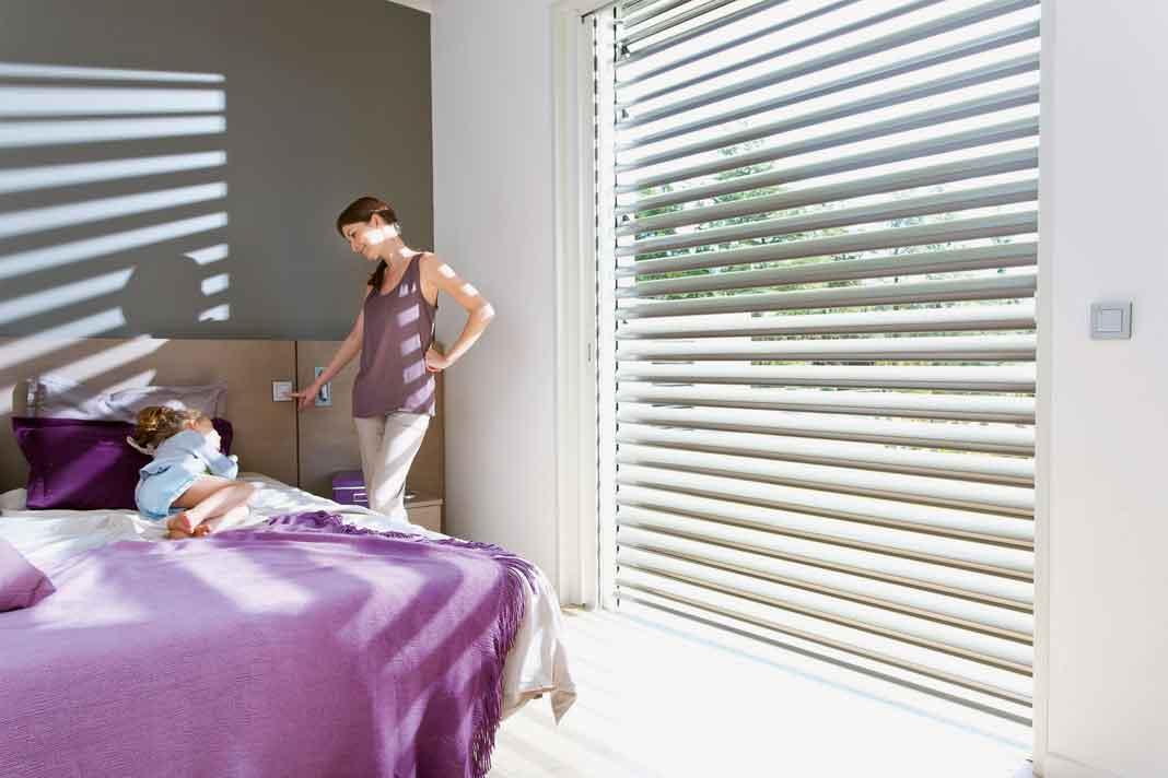 automatisierter Sonnenschutz Somfy