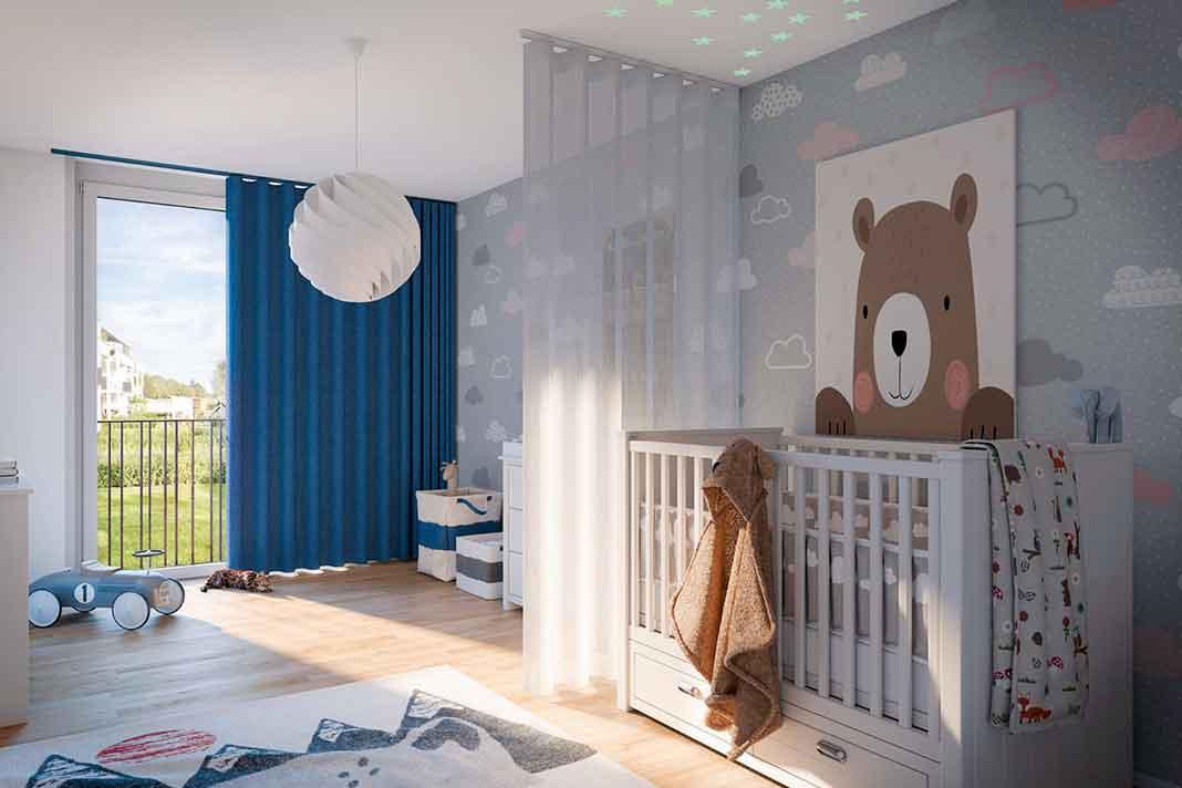 Kinderzimmer Sonnenschutz Innen