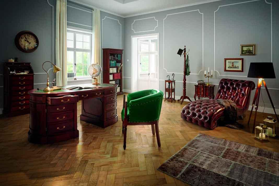 Englische Einrichtung Home Office