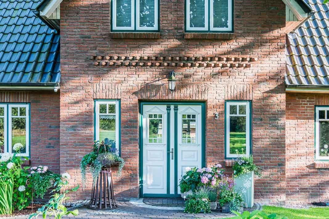 typisch friesisches Landhaus