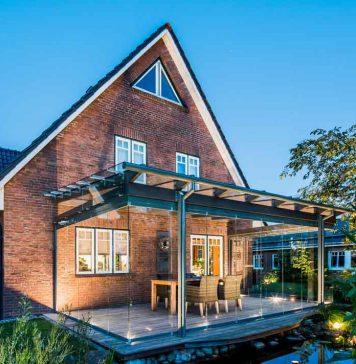 Glashaus Anbau