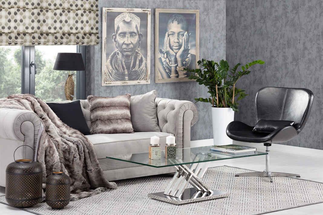 Sommerliches Interior Design durch Animal Prints und warme Erdfarben - Dekoria GmbH
