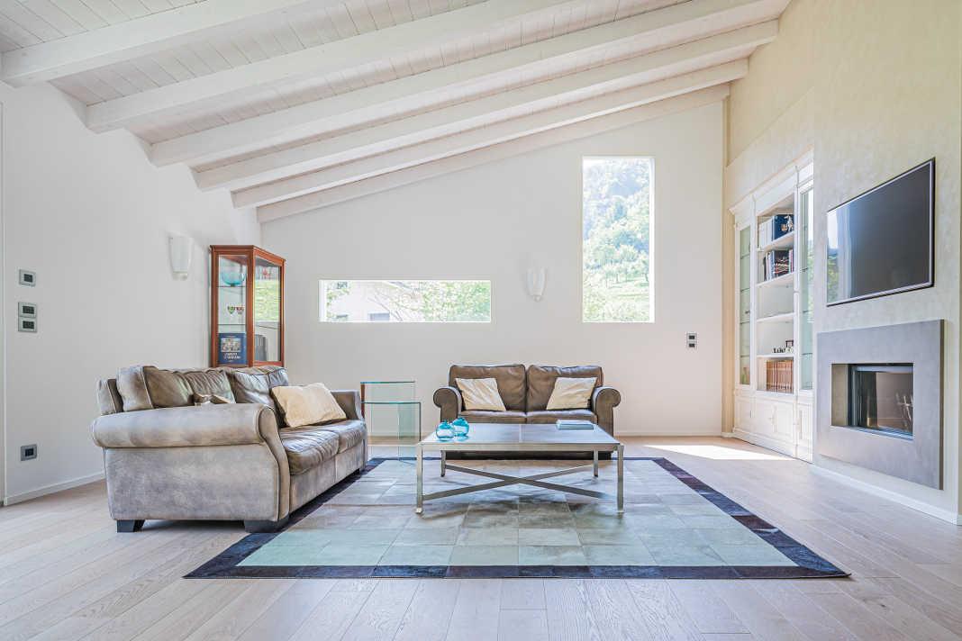 Wohnzimmer in Rubner Haus Morandi