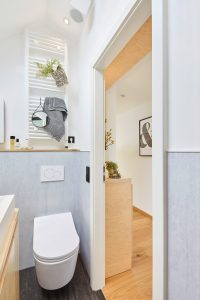 Dusch-WC für ein Gefühl von Frische und Sauberkeit