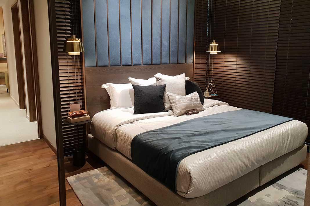 natürliche Einrichtung Schlafzimmer