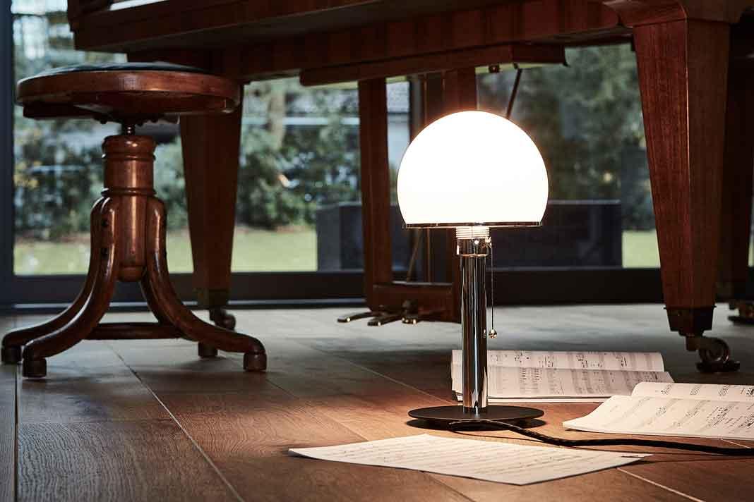Klassische Design-Tischleuchte