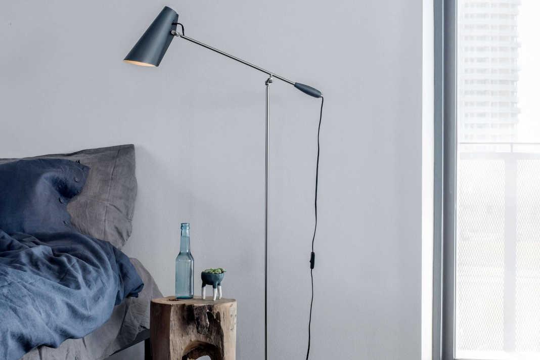 Stehlampe als Schlafzimmerbeleuchtung