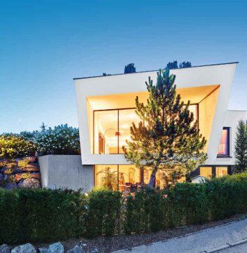 Einfamilienhaus im klaren Bauhausstil mit viel Kreativitaet - Dietmar Strauss/ Rast-Bau GmbH