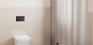 Betaetigungsplatten fürs WC in Mattschwarz - Viega