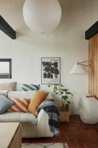 Hygge Lampen in einem Wohnzimmer