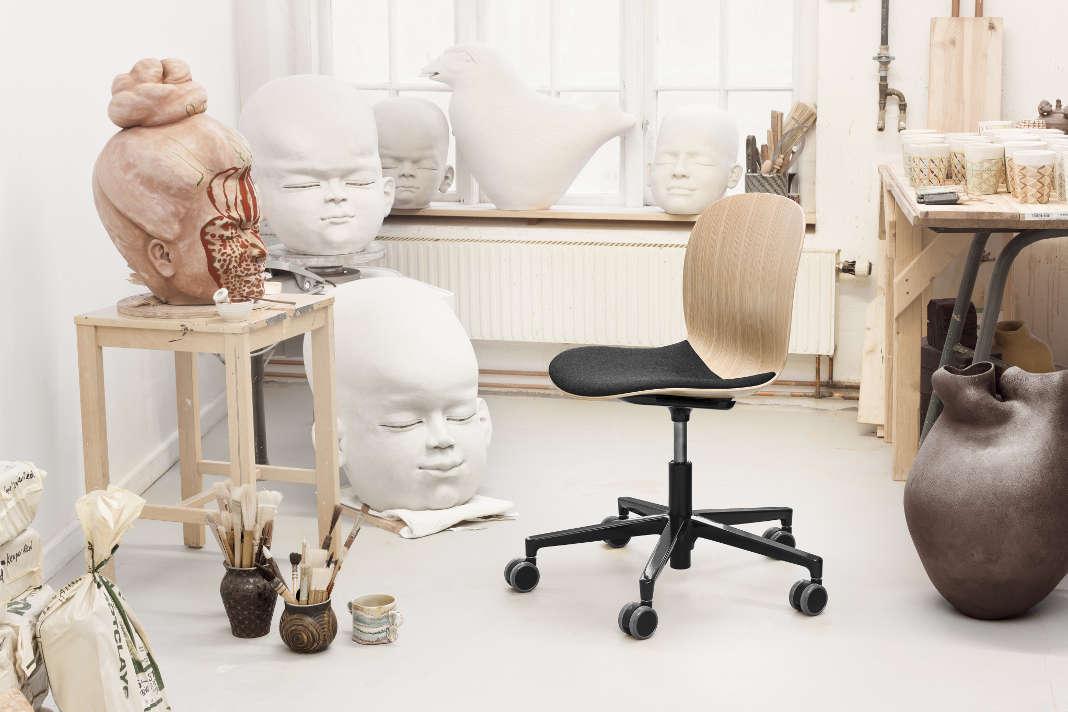 Skandinavischen Sitzmoebel - kreativs Home Office - Flokk GmbH
