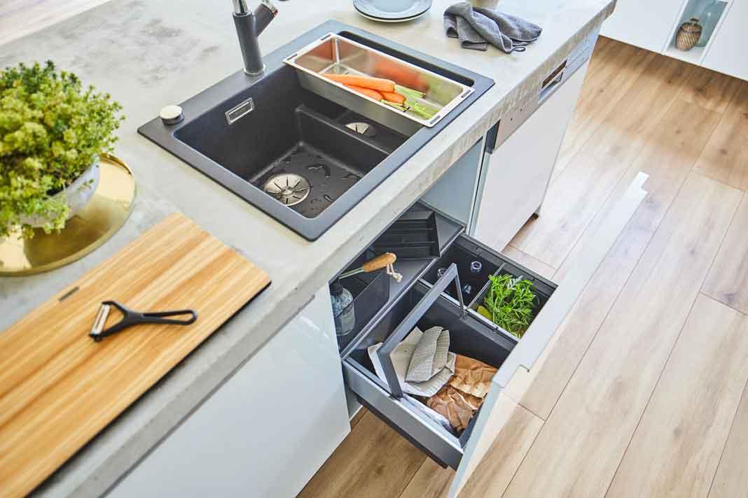 Küche moderne Ordnungssysteme