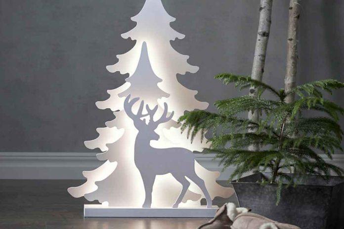 weihnachtliche Lampe