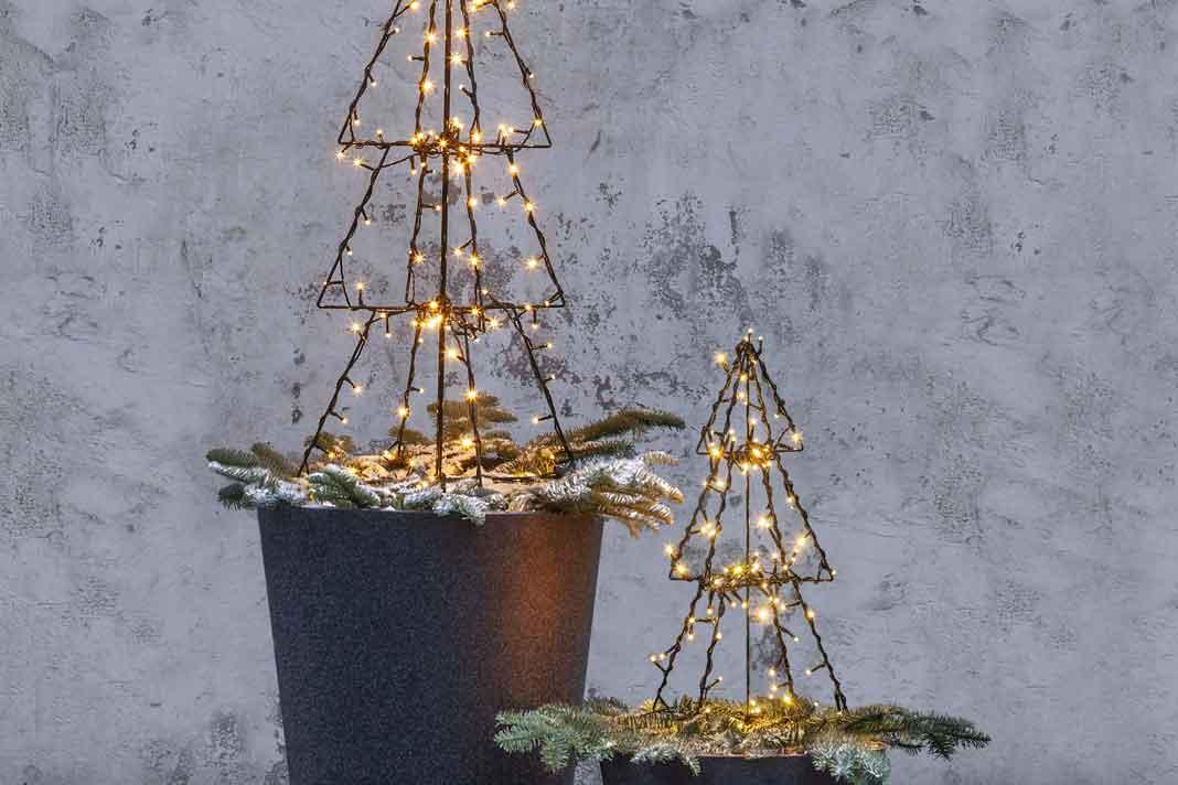 Tannenbaum als Lampe