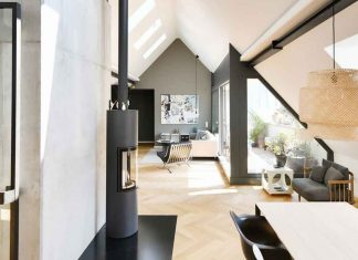 Loftwohnung in umgebautem Studentenwohnheim