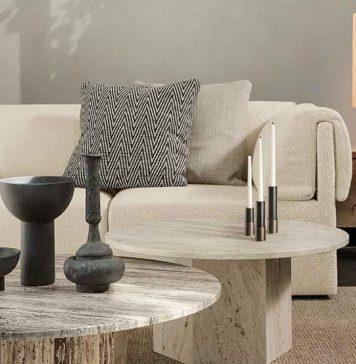 Kerzenhalter in dänischem Design