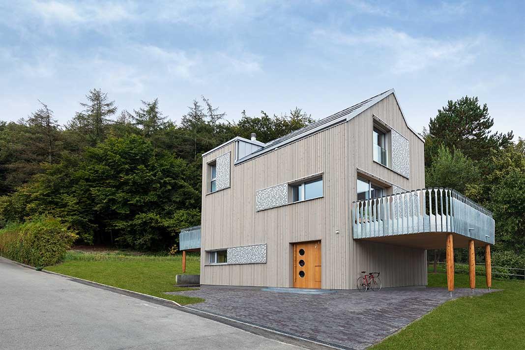 Haus Waldsicht Alfredo Häberli außen
