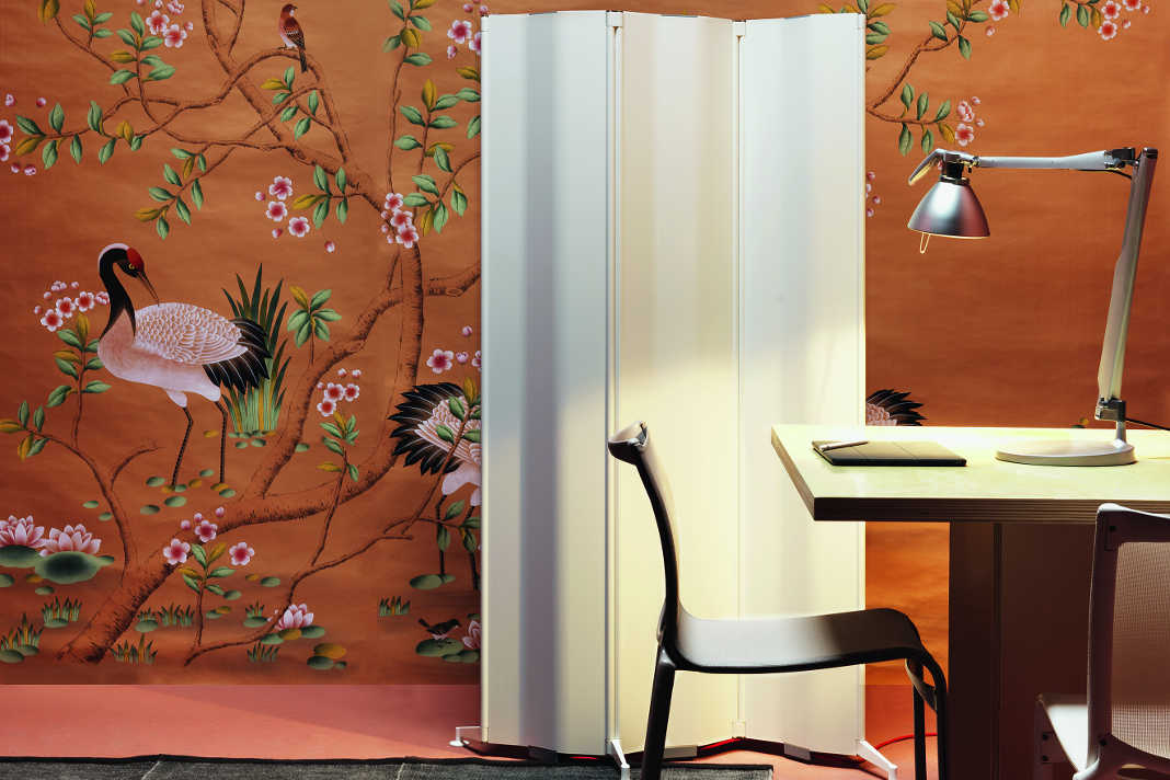 Home Office kleiner Raum - Heizobjekt Origami von Tubes by Max Zambelli/ Ergo