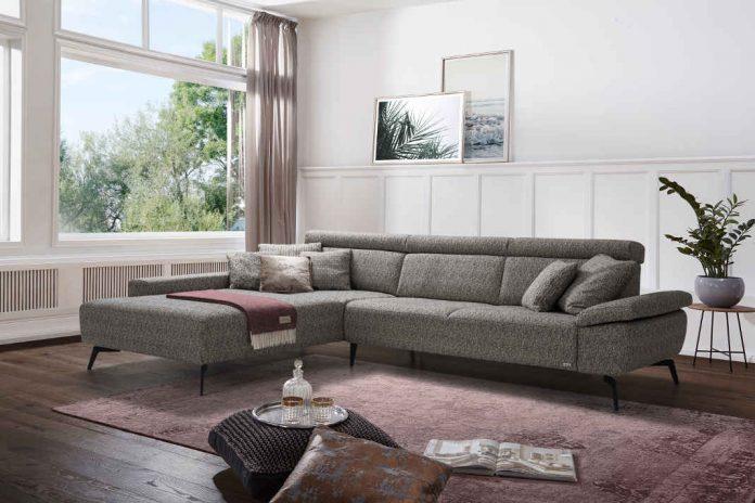 Sofa mit eingebautem Waermesystem - sedda