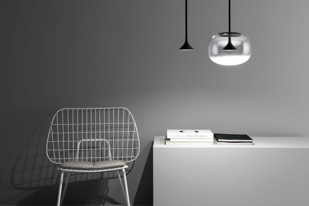 Zwei Versionen der zeitlosen Design Lampe Haengeleuchte Alive von Grok - Lampenwelt