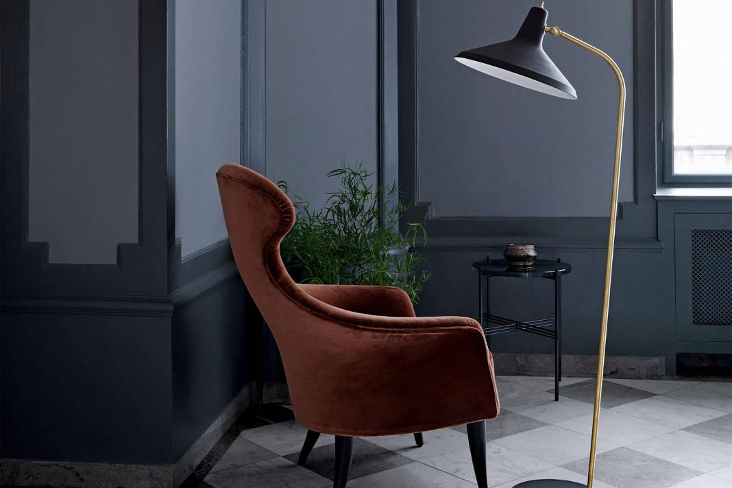 Stehleuchte G-10 als zeitlose Design Lampe - Lampenwelt