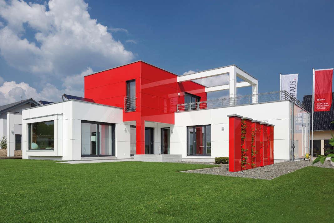 Bauhaus Einfamilienhaus von Luxhaus