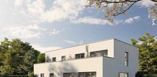 Fingerhaus Fertighaus im Bauhausstil