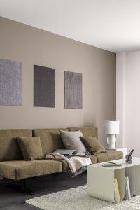 Farbtrends 2021 Wohnzimmer in Beige Caparol