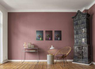 Wohnzimmer Wandgestaltung Farbtrends 2021