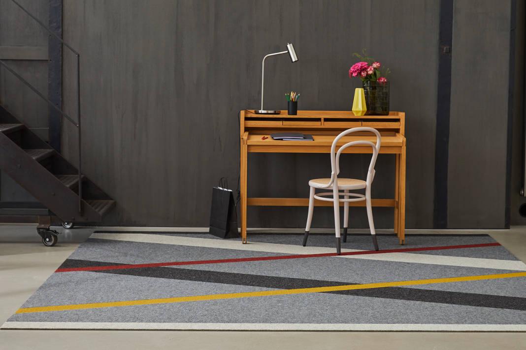 Teppich Wohnzimmer - Dezent und knallig - Interart 360 - Tretford