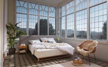 Wohngesundes Schlafsystem - Polsterbett Titlis - Foto: Huesler Nest AG, Schweiz