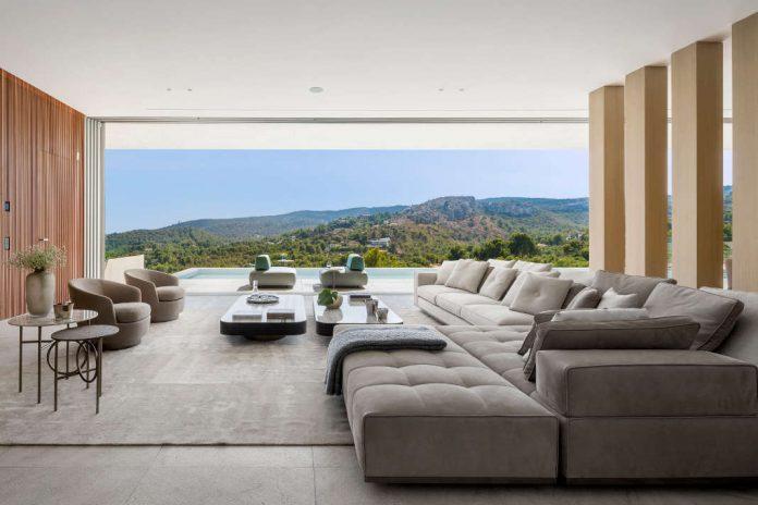 Zeitgenoessische Luxusvilla mit modernem Wohnkonzept - Terraza Balear/ Mauricio Fuertes