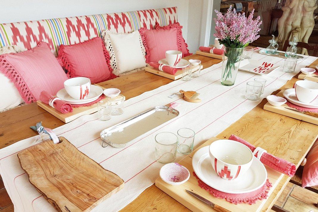 Garten Loungemöbel mit Stoffen aus Mallorca von Teixits Vicens