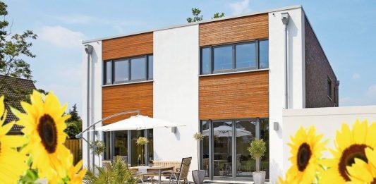 Gesund wohnen in einem nachhaltigen Einfamilienhaus.