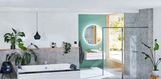 Modernes Bad mit Armatur Molano von Fantini