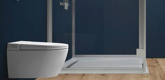 Dusch-WC mit klarem Design